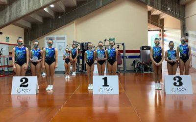 Xàtiva se impone en el Campeonato Autonómico de Gimnasia Aeróbica