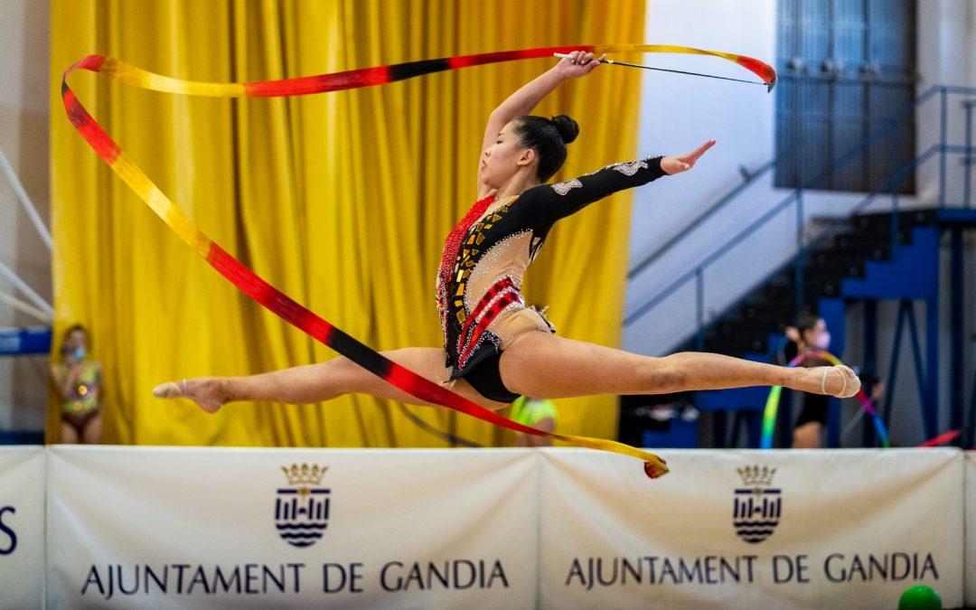 La gimnasia rítmica conquista Gandía