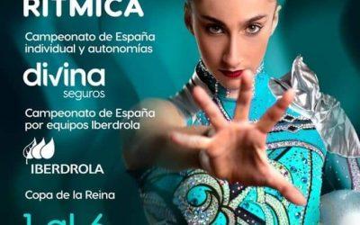 La mejor rítmica nacional cierra el año en Valencia