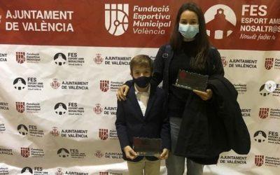 El Club Antares, Mención de Plata al Club en edad escolar de los Premios al Mérito Deportivo Ciudad de València