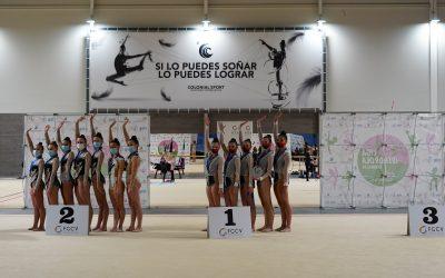 La gimnasia valenciana despide el 2020 con el Autonómico y Provincial de Conjuntos