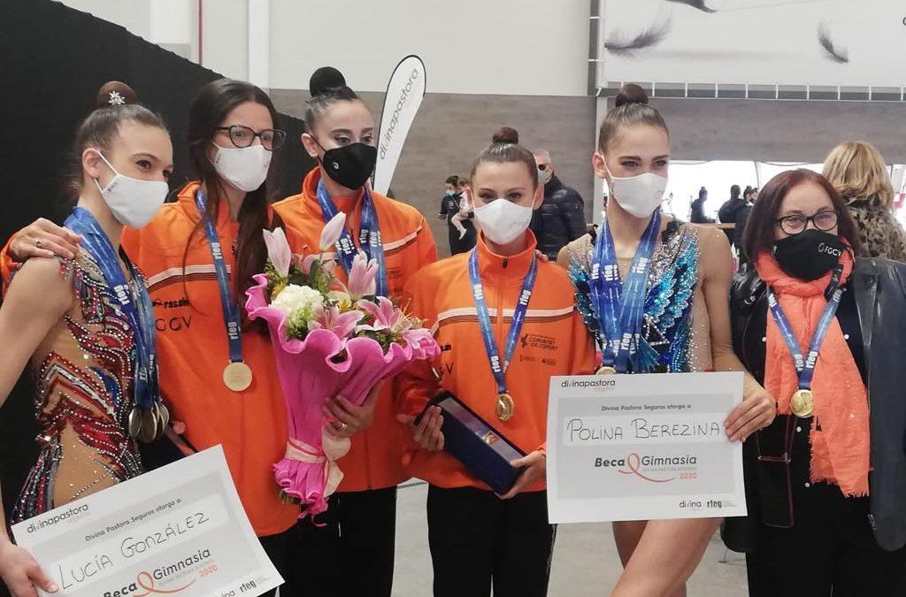 Polina Berezina se proclama campeona de España en Valencia