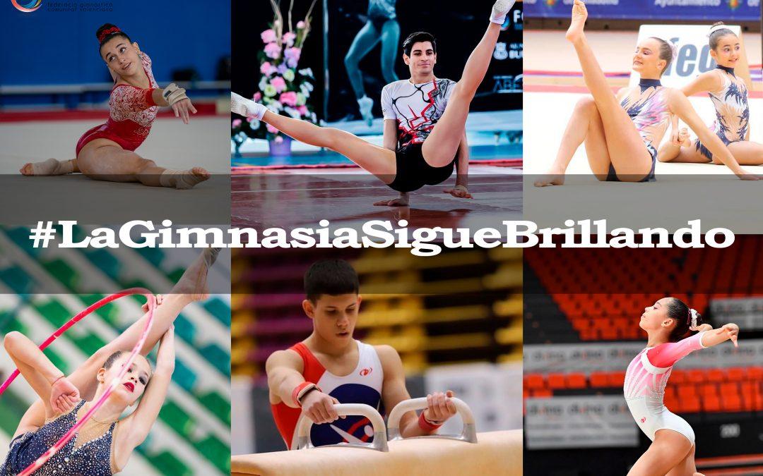 #LaGimnasiaSigueBrillando une a los clubes valencianos en apoyo al deporte