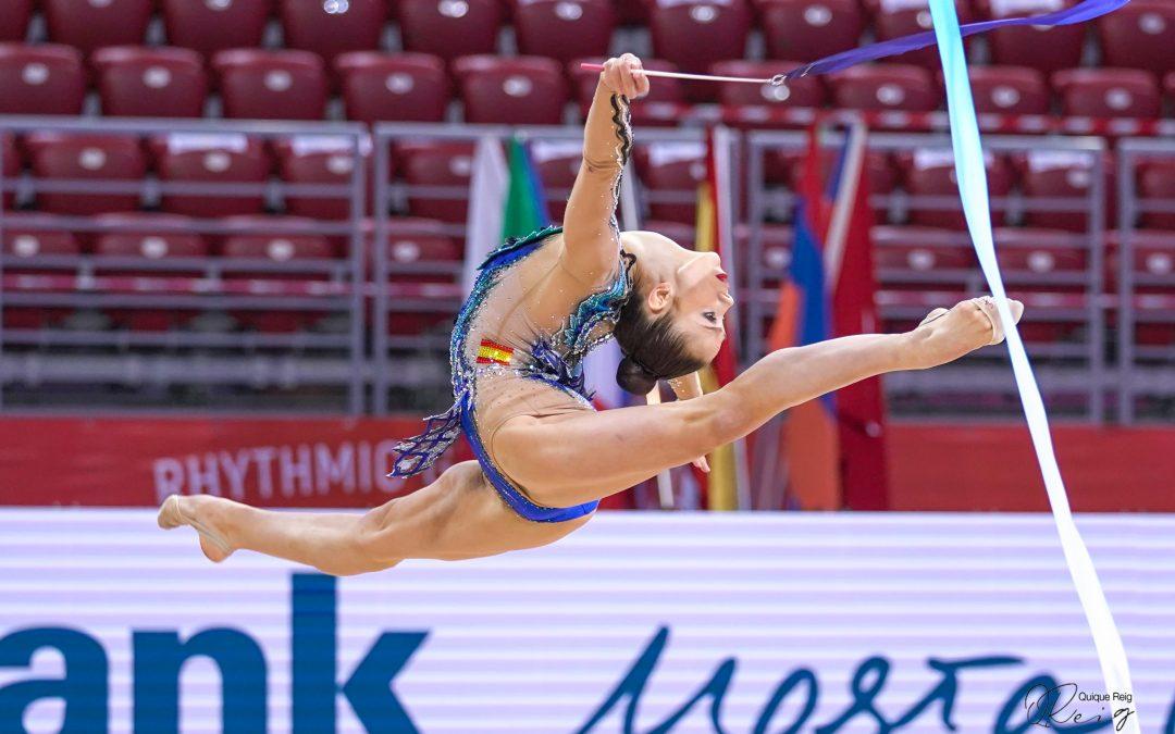 Polina Berezina, 14º clasificada en la Copa del Mundo de Sofía