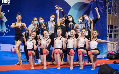 Las gimnastas valencianas alcanzan las finales del Campeonato de Europa disputando
