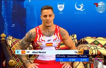 Néstor Abad, convocado para el Campeonato del Mundo de GAM