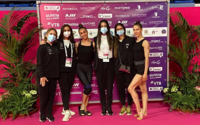 Polina Berezina y el conjunto nacional de Alejandra Quereda finalizan su participación en la cuarta Copa del Mundo