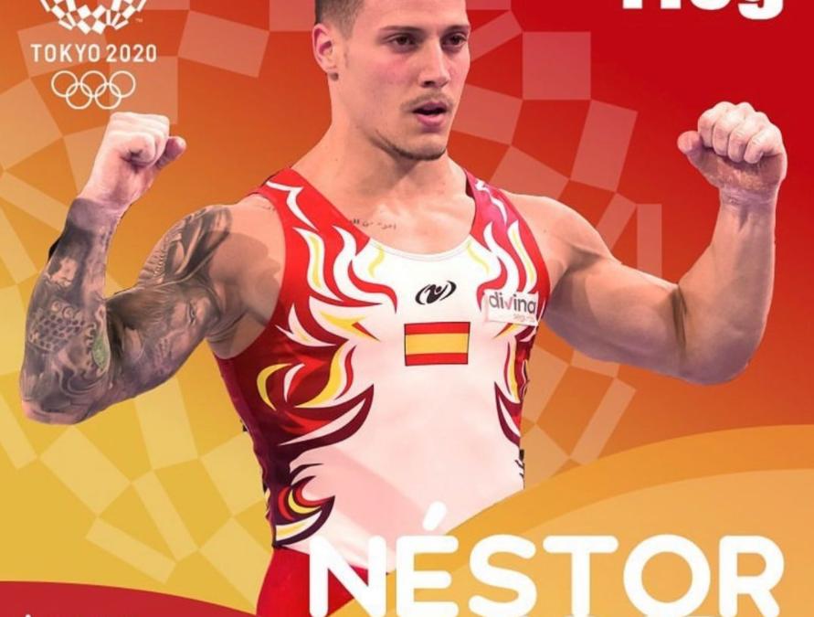 Nestor Abad, designado para representar a España en los Juego Olímpicos de Tokio