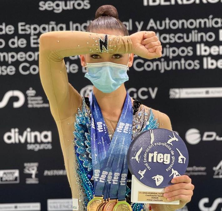 Polina Berezina y Lucía González despiden la temporada por todo lo alto