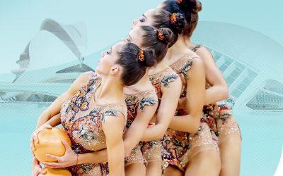 'Valencia es Rítmica' trae a la ciudad lo mejor de la gimnasia rítmica nacional e internacional