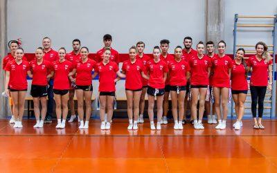 Moncada acoge la concentración del equipo nacional de Aeróbica