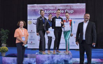 Polina Berezina y Lucía González se coronan en el Torneo Aprhodite Cup
