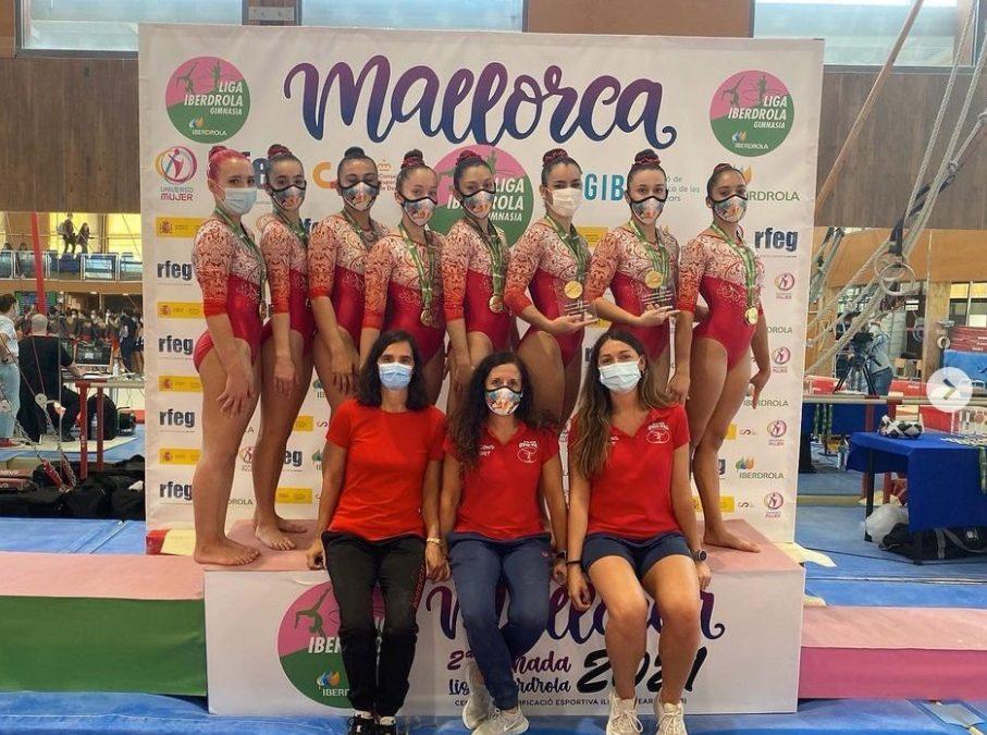 Gym-Val y Gimnàstic La Plana brillan en la 2º fase de la Liga Iberdrola de GAF